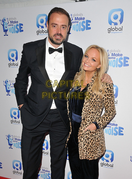 Jamie Theakston &amp; Emma Bunton attend the Global Radio's Make Some Noise Night Gala, Supernova, Embankment Gardens, London, England, UK, on Tuesday 24 November 2015. <br /> CAP/CAN<br /> &copy;CAN/Capital Pictures