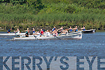 Action from the Senior Ladies race at Callinafercy Regatta on Sunday..