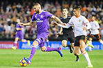 Karim Benzema of Real Madrid in action during their La Liga match between Valencia CF and Real Madrid at the Estadio de Mestalla on 22 February 2017 in Valencia, Spain. Photo by Maria Jose Segovia Carmona / Power Sport Images