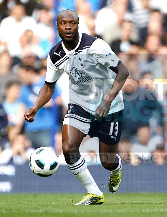 William Gallas of Tottenham Hotspur in action