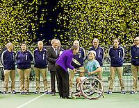 14-02-13, Tennis, Rotterdam, ABNAMROWTT, Wheelchair Finale, Shingo Kunieda, Maikel Scheffers, Gorden Reid