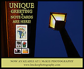 "L McKee Photography Unique Greeting & Note Cards is a collection of greeting and note cards created and designed by photographer Larry McKee and artist - graphic designer Richard McKee.  These greeting and note cards are exclusively sold by L McKee Photography and span three generations of one families work. These greeting and note cards are American made, local and a small business product. The folded greeting and note cards come in 3.5""x5"" and 5""x7"" sizes. Envelopes are included and the folded greeting and note cards are printed on quality card stock. 5x7 note cards can also be matted and framed and look great in those hard to fill nooks at your home or office. PLEASE NOTE: The image you see is the image that will appear on the front of the greeting card. Insides of the card are blank. ADDITIONAL NOTE: L McKee Photography can also customize and personalize a greeting card for you as well. Just tell us what you want and we will design your own personal greeting card. Please ""contact"" L McKee Photography for details. Photos: Larry McKee, L McKee Photography. L McKee Photography, Clarkston, Michigan. L McKee Photography, specializing in college and high school varsity action sports and senior portrait photography. Other L McKee Photography services include business profile, commercial, event and editorial photography. L McKee Photography, serving Oakland County, Genesee County, Livingston County and Wayne County, Michigan. L McKee Photography, your ""professional"" source for college and high school varsity action sports and senior portrait photography."