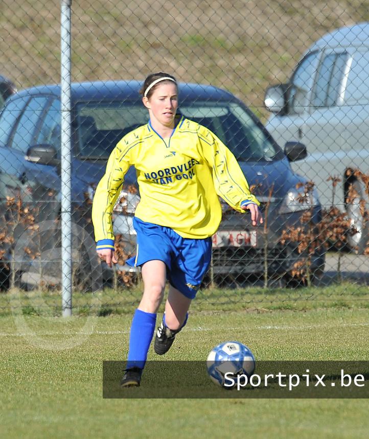 Achterbroek VV : Lisa Korevaar.foto Joke Vuylsteke / Vrouwenteam.be / Loft6.be