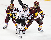 Wade Bergman (Duluth - 28), Kevin Sullivan (Union - 16), Brady Lamb (Duluth - 2) - The University of Minnesota-Duluth Bulldogs defeated the Union College Dutchmen 2-0 in their NCAA East Regional Semi-Final on Friday, March 25, 2011, at Webster Bank Arena at Harbor Yard in Bridgeport, Connecticut.