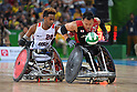 Yukinobu Ike (JPN), <br /> SEPTEMBER 16, 2016 - WheelChair Rugby : <br /> Preliminary Round Group B match Japan 56-57 USA <br /> at Carioca Arena 1<br /> during the Rio 2016 Paralympic Games in Rio de Janeiro, Brazil.<br /> (Photo by AFLO SPORT)