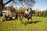 Badminton, Gloucestershire, United Kingdom, 4th May 2019, Chris Burton riding Cooley Lands during the Cross Country Phase of the 2019 Mitsubishi Motors Badminton Horse Trials, Credit:Jonathan Clarke/JPC Images