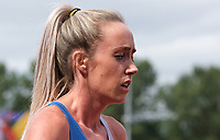 Eilish McColgan of Great Britain before the women's 3000m during the Muller Grand Prix  IAAF Diamond League meeting at Alexander Stadium, Perry Barr, Birmingham.<br /> Picture by Alan Stanford +44 7915 056117<br /> 18/08/2018
