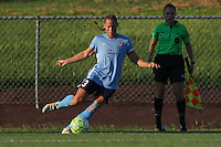 Piscataway, NJ - Saturday July 23, 2016: Christie Rampone during a regular season National Women's Soccer League (NWSL) match between Sky Blue FC and the Washington Spirit at Yurcak Field.