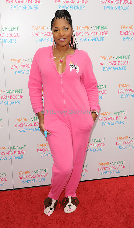 May 5, 2013   Beverly Hills, Ca..Trina Braxton.Tamar Braxton celebrates her Carnival Themed Baby Shower with friends and family, at the Hotel Bel Air..© Fitzroy Barrett / AFF-USA.COM