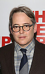 Matthew Broderick attends the opening night party for the New Group Production of Wallace Shawn's  'Evening at the Talk House' at Green Fig Urban Eatery on 2/16/2017 in New York City.