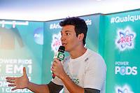SAO PAULO, SP, 25 DE JULHO DE 2013. EVENTO P&G - ARIEL. o apresentador Rodrigo Faro durante o lançamento do  novo produto da P&G, Ariel Power Pods, na manhã desta quinta feira (25), no Hotel Tivoli, na região central da capital paulista.  Ariel Power Pods é um sabão em pó em cápsulas para maquina de lavar. FOTO ADRIANA SPACA/BRAZIL PHOTO PRESS