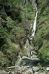 The Jogni Falls near Vashisht in the Kullu Valley Himachal Pradesh, India.