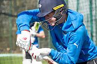 Picture by Allan McKenzie/SWpix.com - 05/04/2018 - Cricket - Yorkshire County Cricket Club Training - Headingley Cricket Ground, Leeds, England - Gary Ballance bats in the nets.