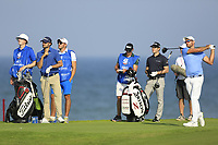 Bernd Ritthammer (GER) during the first round of the NBO Open played at Al Mouj Golf, Muscat, Sultanate of Oman. <br /> 15/02/2018.<br /> Picture: Golffile | Phil Inglis<br /> <br /> <br /> All photo usage must carry mandatory copyright credit (&copy; Golffile | Phil Inglis)