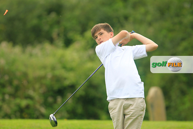 Niall McDermott (Co. Sligo) during the Golfstyle Boys U17 Kenny Cup Strokeplay final, Gort Golf Club, Gorth, Co Galway.  09/08/2015.<br /> Picture: Golffile | Fran Caffrey<br /> <br /> <br /> All photo usage must carry mandatory copyright credit (&copy; Golffile | Fran Caffrey)