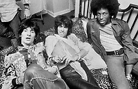 Rolling Stones, Milwaukee, 1975. Ron Wood, Keith Richards, Ollie Brown