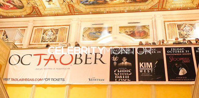 LAS VEGAS, NV, USA - OCTOBER 25: Atmosphere at Kim Kardashian West's 34th Birthday Celebration held at TAO Nightclub at The Venetian Las Vegas on October 25, 2014 in Las Vegas, Nevada, United States. (Photo by Xavier Collin/Celebrity Monitor)