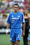12 Jun 2004: Davy Arnaud before the game. The Columbus Crew and Kansas City Wizards tied 2-2 at Crew Stadium in Columbus, OH during a regular season Major League Soccer game..