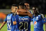 Millonarios demostró jerarquía y goleó 3 - 0 al recién ascendido Cúcuta Deportivo en compromiso que se jugó en El Campín de Bogotá en el marco de la cuarta fecha del Apertura 2015.