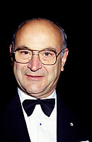 1986  File Photo - Jean DeGranpre, president and chief executive officer of Bell Canada Enterprises Inc attend the La Presse 1986 Gala