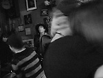January 29, 2008. New Orleans, LA.. A couple dances to music at a bar on Frenchman Street.