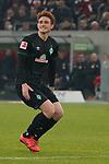 18.01.2020, Merkur Spielarena, Duesseldorf , GER, 1. FBL,  Fortuna Duesseldorf vs. SV Werder Bremen,<br />  <br /> DFL regulations prohibit any use of photographs as image sequences and/or quasi-video<br /> <br /> im Bild / picture shows: <br /> Josh Sargent (Werder Bremen #19), Einzelaktion, Ganzkörper / Ganzkoerper,  <br /> <br /> Foto © nordphoto / Meuter