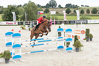 Horse Jumping at Czech Equistrian Masters 2017. Photo for personal and editorial use only.