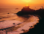 Sunset over the Pacific Ocean at Big Sur, California John offers private photo tours in Washington and throughout Colorado. Year-round.