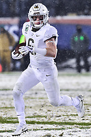 PHILADELPHIA, PA - DEC 9, 2017: Army Black Knights running back John Trainor (6) runs the football during game between Army and Navy at Lincoln Financial Field Philadelphia, PA. Army defeated Navy 14-13 to win the Commander in Chief Cup. (Photo by Phil Peters/Media Images International)