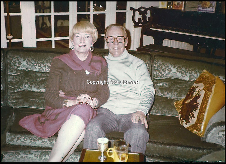 BNPS.co.uk (01202 558833)<br /> Pic: PaulBarrett/BNPS<br /> <br /> Paul Barrett's mother Ida May and father Cyril Edwards.<br /> <br /> A retired businessman has spent £26,000 laying on his very own a show in tribute to his hero - the musical maestro Annunzio Paolo Mantovani.<br /> <br /> Paul Barrett, 72, will perform in a 48-piece orchestra he has hired for the performance that he is prepared to make a loss of thousands of pounds on.<br /> <br /> Mr Barrett said he plans to do 'everything bar conducting' in the musical extravaganza being hosted at the Bournemouth Pavilion Theatre in Dorset.