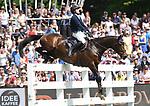 02.06.2019,  GER;  Deutsches Spring- und Dressur-Derby, 90. Deutsches Spring-Derby, im Bild Philipp Makowei (GER) auf Queo Foto © nordphoto / Witke
