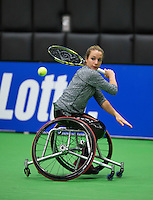December 16, 2014, Rotterdam, Topsport Centrum, Lotto NK Tennis, Jiske Griffioen (NED)<br /> Photo: Tennisimages/Henk Koster
