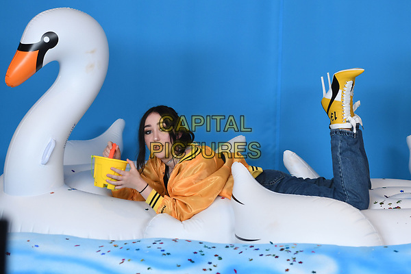 MIAMI BEACH , FL - JUNE 10: Noah Cyrus poses in the press room during the iHeart Summer 17 concert at the Fontainebleau on June 10, 2017 in Miami Beach, Florida. <br /> CAP/MPI04<br /> &copy;MPI04/Capital Pictures
