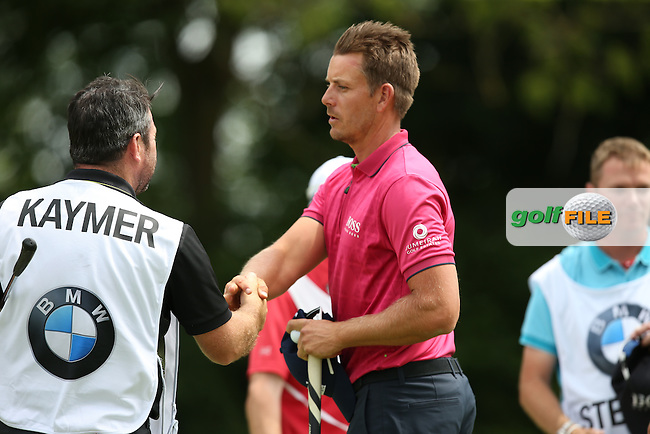 Henrik Stenson (SWE) content with his round of 67 during Round One of the 2015 BMW International Open at Golfclub Munchen Eichenried, Eichenried, Munich, Germany. 25/06/2015. Picture David Lloyd | www.golffile.ie