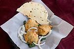 Samosa, Papadum, Heelsha Restaurant, Miami, Florida