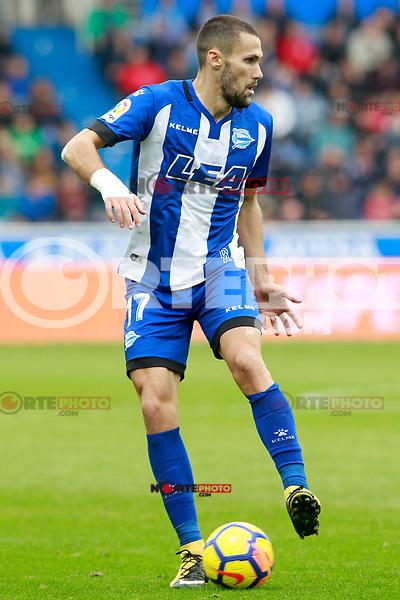 Deportivo Alaves' Alfonso Pedraza during La Liga match. October 28,2017. (ALTERPHOTOS/Acero) /NortePhoto.com