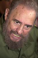 Cuban president Fidel Castro pictured on  June 9, 2006.  Credit: Jorge Rey/MediaPunch