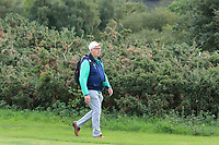 John Moloughney from Ireland at the 17th fairway during Round 2 Singles of the Men's Home Internationals 2018 at Conwy Golf Club, Conwy, Wales on Thursday 13th September 2018.<br /> Picture: Thos Caffrey / Golffile<br /> <br /> All photo usage must carry mandatory copyright credit (&copy; Golffile | Thos Caffrey)