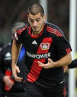 FUSSBALL   1. BUNDESLIGA   SAISON 2011/2012    15. SPIELTAG Bayer 04 Leverkusen - 1899 Hoffenheim                  02.12.2011 Eren Derdiyok (Bayer 04 Leverkusen)