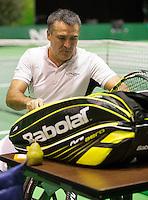 Februari 13, 2015, Netherlands, Rotterdam, Ahoy, ABN AMRO World Tennis Tournament, Stephane Houdet (FRA)<br /> Photo: Tennisimages/Henk Koster