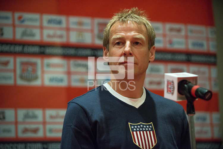 DENVER, CO - MARCH 25, 2013 - USMNT Press Conference at the Radisson Hotel in Mexico City, Mexico.
