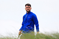 Niall Hearns (Mountrath) on the 16th tee during Round 2 of The East of Ireland Amateur Open Championship in Co. Louth Golf Club, Baltray on Sunday 2nd June 2019.<br /> <br /> Picture:  Thos Caffrey / www.golffile.ie<br /> <br /> All photos usage must carry mandatory copyright credit (© Golffile | Thos Caffrey)