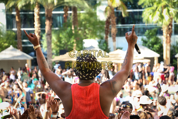 LAS VEGAS, NV - September 13: Schoolboy Q at REHAB Pool Party at Hard Rock Hotel &amp; Casino in Las Vegas, NV on September 13, 2014. <br /> CAP/MPI/ KAB<br /> &copy;E.Kabik/MediaPunch/Capital Pictures