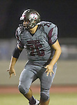 Torrance, CA 09/25/15 - Aaron Hernandez (Torrance #76) in action during the El Segundo - Torrance varsity football game at Zamperini Field of Torrance High School