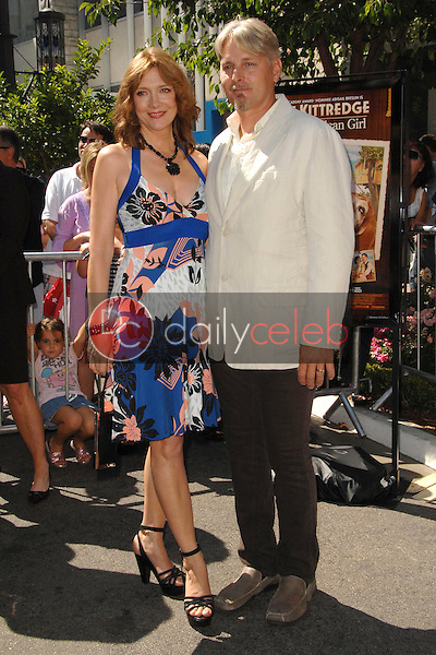 """Glenne Headly and husband Byron<br />at the world premiere of """"Kit Kittredge: An American Girl"""". The Grove, Los Angeles, CA. 06-14-08<br />Dave Edwards/DailyCeleb.com 818-249-4998"""
