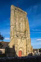 France, Bretagne, (29), Finistère, Cap Sizun,  //  France, Brittany, Car Sizun,  Primelin: La chapelle Saint Tugen à Primelin