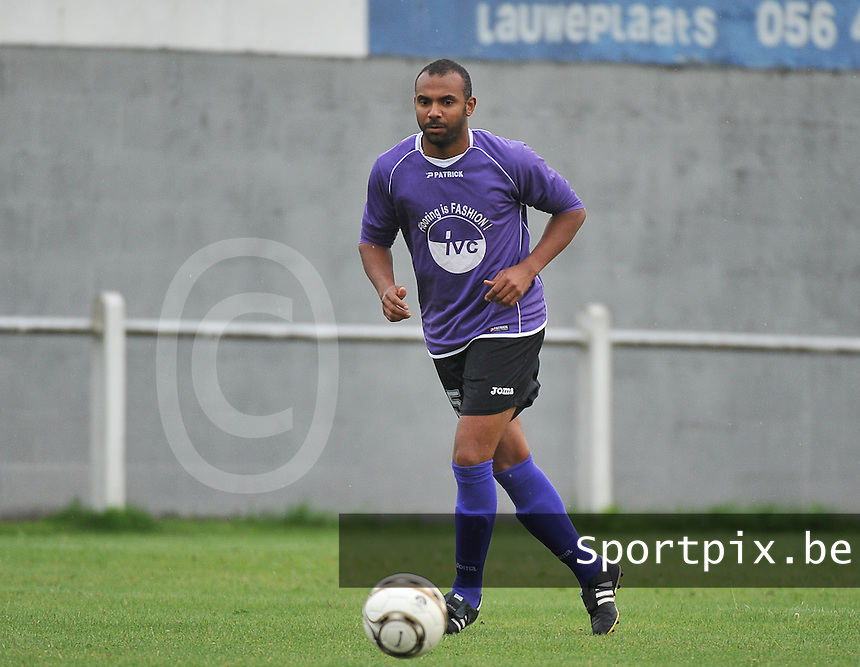 FC Helkijn : Frederic Agboton<br /> foto VDB / Bart Vandenbroucke