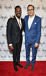 Colman Domingo and Josh Sapan attends the Vineyard Theatre Gala honoring Colman Domingo at the Edison Ballroom on May 06, 2019 in New York City.