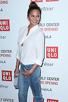 LOS ANGELES, CA, USA - OCTOBER 09: Chrissy Teigen arrives at the UNIQLO Los Angeles Store Opening held at the UNIQLO Beverly Center Store on October 9, 2014 in Los Angeles, California, United States. (Photo by Xavier Collin/Celebrity Monitor)