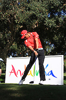 Rafael Cabrera-Bello (ESP) during the final day of the  Andalucía Masters at Club de Golf Valderrama, Sotogrande, Spain. .Picture Fran Caffrey www.golffile.ie